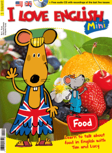 Portada I Love English Mini - Food