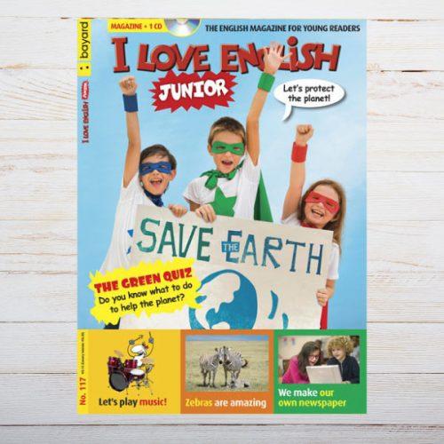 Revista I Love English Junior