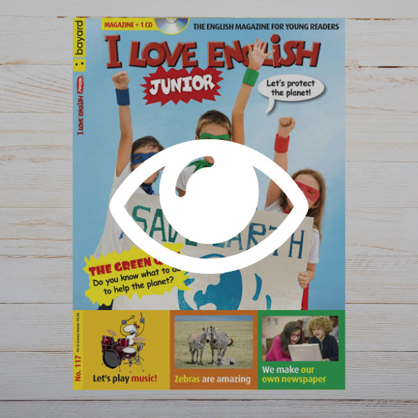 Hojeo revista I Love English Junior