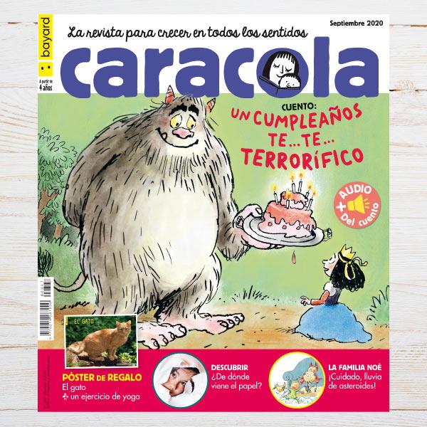 Portada revista Caracola