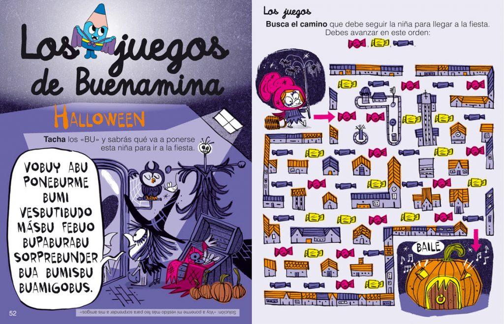 Los juegos de Buenamina - revista Leoleo