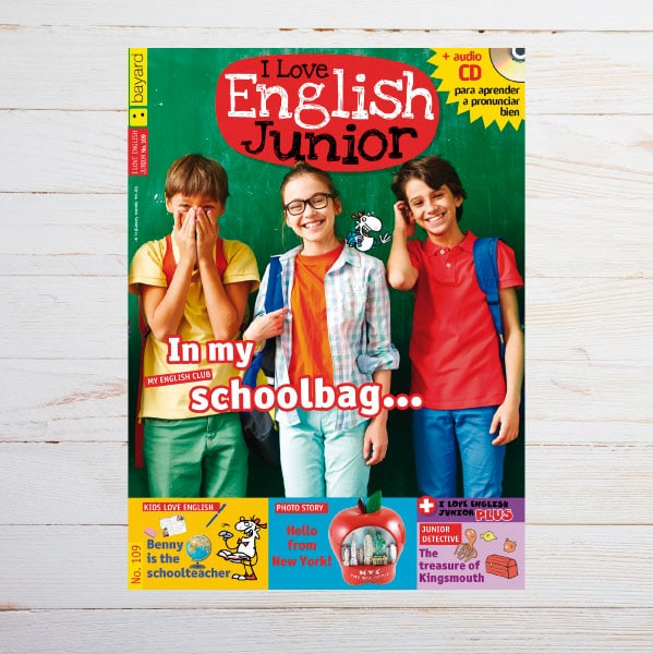 Portada I Love English Junior