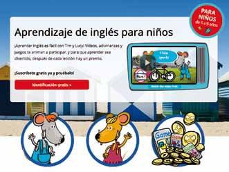 Curso de inglés para niños I Love English Mini