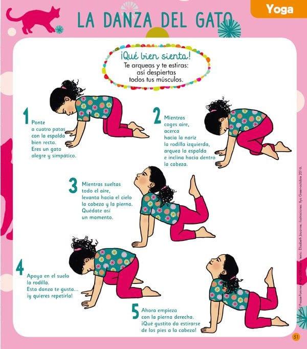 Yoga para niños - revista Caracola