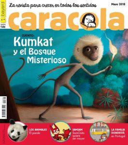 Portada revista Caracola Mayo 2018