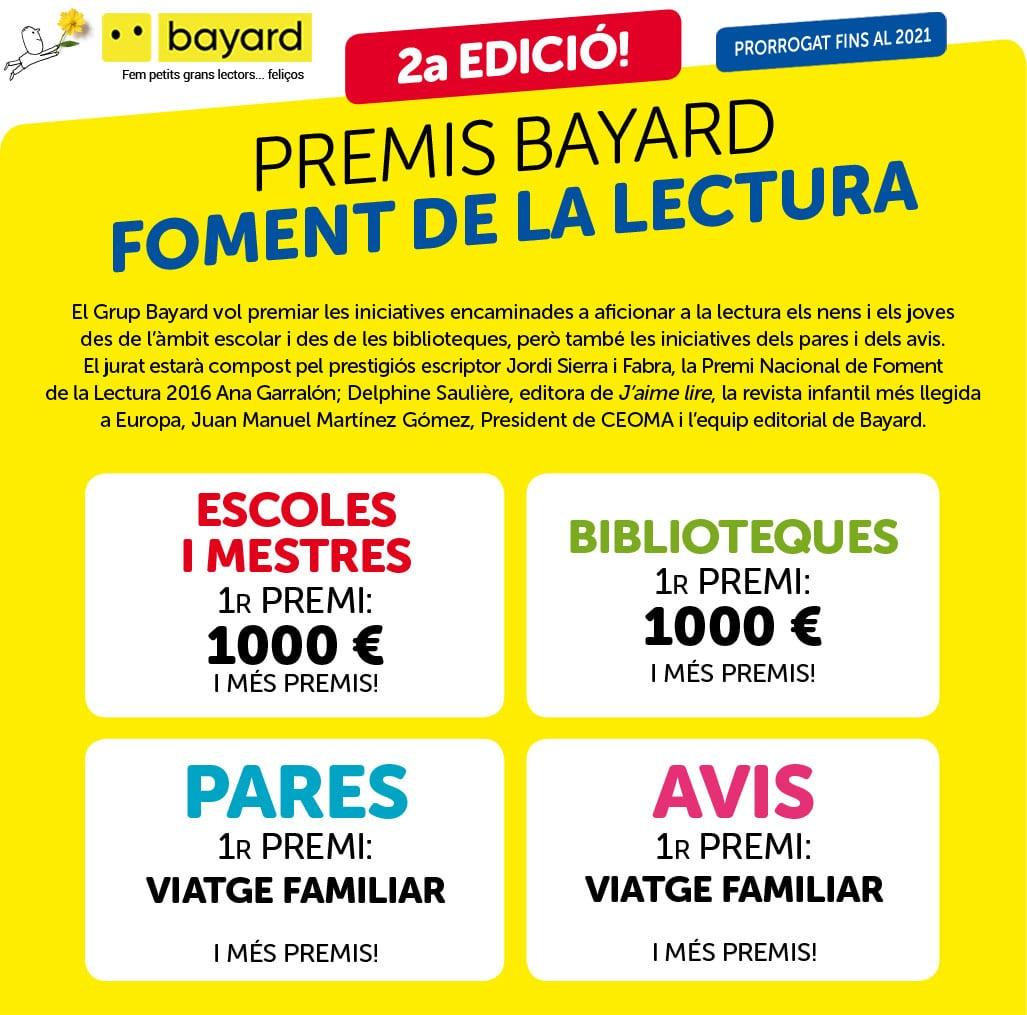 Premis Bayard foment de la lectura