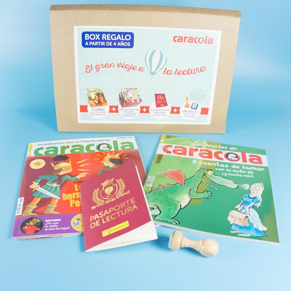 Box regalo lectura Caracola 1 año