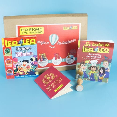 Box regalo Revista Leoleo